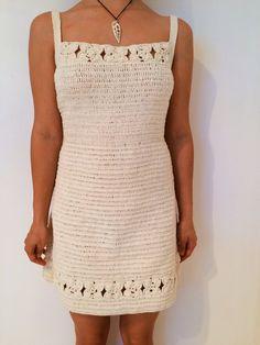 Avery Crochet Dress