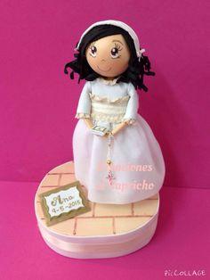 Creaciones el Caprichos: Muñeca personalizada de comunión.