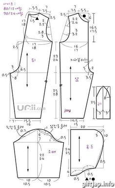 Выкройки детской одежды (комбинезон) 2