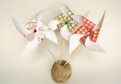 Pinwheels for MY WEDDING ADVENTURE by Gemma Alguacil, via Behance