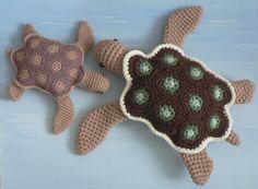 AquaAmi Sea Turtles by planetjune