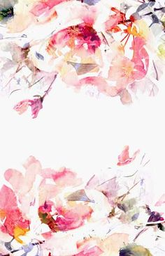 """Spring Floral - Large Wall Mural, Watercolor Mural, Wallpaper, 120"""" x 120"""" …"""