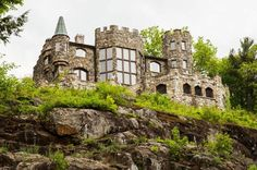 Highlands Castle overlooking Lake George, NY in Bolton Landing Vacation Destinations, Vacation Trips, Vacations, Castles In America, Bolton Landing, Lake George Ny, Gatlinburg Vacation, Small Castles, Adirondack Park