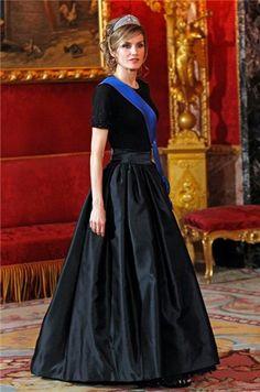 Queen Letizia of Spain. Simple and elegant.