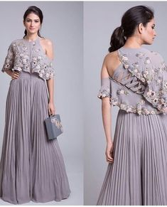 Unique outfit for any occasion. Unique outfit for any occasion. Indian Fashion Dresses, Indian Gowns Dresses, Indian Designer Outfits, Indian Dresses For Women, Stylish Dress Designs, Stylish Dresses, Indian Wedding Outfits, Indian Outfits, Designer Party Wear Dresses