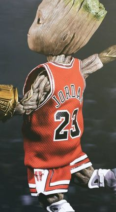 Awww groot as Micha Marvel Art, Marvel Heroes, Marvel Characters, Marvel Movies, Marvel Avengers, Funny Basketball Memes, Basketball Art, Michael Jordan Art, Jordan Logo Wallpaper