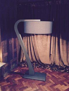 Our massive scale sculptured floor lamp ZED
