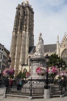 St. Rumboldt's Cathedral in Mechelen, Belgium.