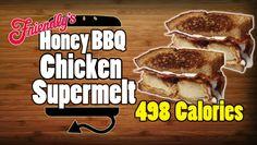 Healthy Honey BBQ Chicken Supermelt Recipe - 498 Calories