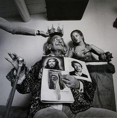 Salvador Dali by Alberto Schommer ©, 1973