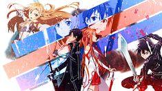 9 Top Sword Art Online Kirito And Asuna Wallpaper Images Sword Art Online Asuna, Kirito Sword, Kirito Asuna, Asuna Wallpaper, Sword Art Online Wallpaper, Art Anime, Anime Kunst, Manga Anime, Kunst Online