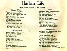 Essay: The Harlem Renaissance