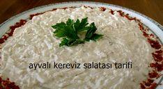 ayvalı kereviz salatası tarifi