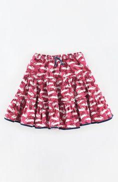 Mini Boden Print Cotton Twirly Skirt (Toddler Girls, Little Girls & Big Girls) available at #Nordstrom