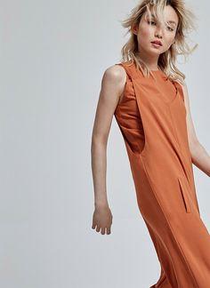 Mono Palazzo with crop top - elegant jumpsuits for Women - Fashion U Woman - Adolfo Dominguez Online