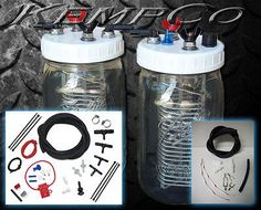 HHO Hydrogen Generator 2 Cell Kit Complete & Dual Hook Up Kit - Our Best Seller