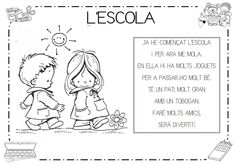 Mi grimorio escolar: POESIA L'ESCOLA Education, Comics, School, Google, Poem, Poetry For Kids, Preschool Classroom, Primary Music, Schools