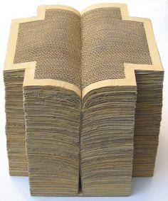 Onisim Colta, Biblia de la Aksum, lemn, carton, nisip, 44,5x37x37 cm, 2005