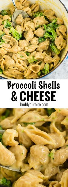 Broccoli Shells and Cheese | Posted By: DebbieNet.com