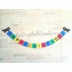 Lego Ninjago Happy Birthday Banner Decoration Wall Banner, All Themes, Kids Party Supplies, Happy Birthday Banners, Lego Ninjago, Personalized Items, Decoration, Decor, Decorating