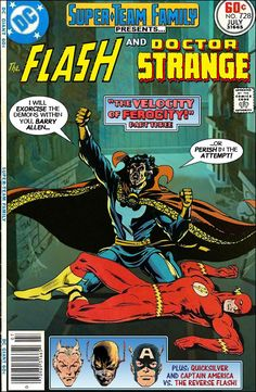Super-Team Family: The Lost Issues!: The Flash and Doctor Strange