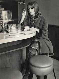 Coffee & a cigarette....was my two favorite things...now I just want my coffee.....................