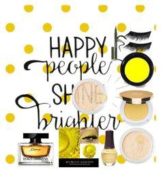 """Mellow Yellow"" by julia-harris-i on Polyvore featuring beauty, SpaRitual, Bare Escentuals, Isaac Mizrahi, Stila, Illamasqua and Dolce&Gabbana"