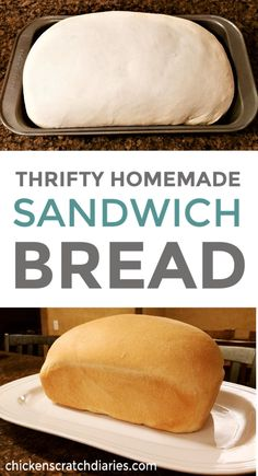 Easy homemade sandwich bread -for pennies a loaf. Easy homemade sandwich bread -for pennies a loaf. The post Easy homemade sandwich bread -for pennies a loaf.