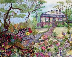 Australian Cottage by LaVeta Jude, via Flickr.  Judith Baker Montano