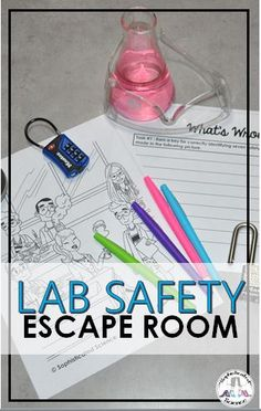 Discover recipes, home ideas, style inspiration and other ideas to try. Lab Safety Activities, Science Lab Safety, Science Activities, Middle School Science Projects, School Science Experiments, Science Lessons, Teacher Toolkit, Teacher Resources, Lab Safety Rules