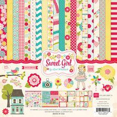 2013 CHA Release - Echo Park Paper - Sweet Girl
