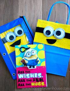 DIY Minion Gift for Preschooler