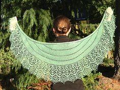@Ravelry: Olive Garden #pattern by Tanya Gobruseva #shawl