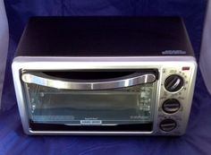 Black And Decker TO1313SBD 4 Slice Toaster Oven #BlackDecker