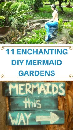 Take your fairy garden up a notch with these mystical mermaid garden DIY ideas! You'll love these ideas both outdoors or inside for home decor!