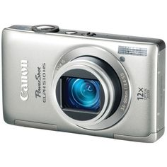 Canon PowerShot ELPH 510 HS 12.1 MP CMOS Digital Camera with Full HD Video and Ultra Wide Angle Lens (Silver) by Canon. $149.00. From the Manufacturer                      The Leading Edge of Design and Technology  Beautifully and Astonishingly Thin At a slim 0.86 inches, the PowerShot ELPH 510 HS is the world's thinnest camera with a 28mm Wide-Angle lens, 12x Optical Zoom, and Optical Image Stabilizer.* Its stylish form is enhanced by its lustrous finish, which gives you a ...