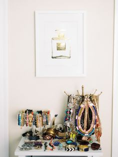 Julia Engel of Gal Meets Glam   Rue Maybe I would wear accessories if I had this sort of set up?