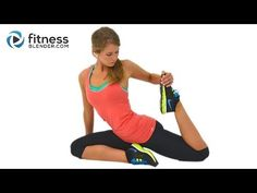 Quick Yoga Cool Down and Stretch Workout Video for flexibility and relaxation.