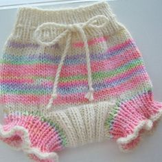 Merino wool cloth diaper cover soaker Knitted with by ggCreations, $24.00: