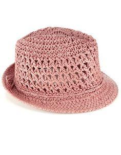 pink summer hats