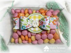 Pillow Box Challenge- Vicki Chrisman #thelittlebluehouse