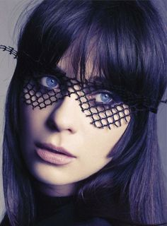 Zooey Deschanel by Tesh for Marie Claire May 2012