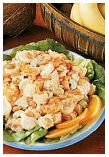 Tropical Chicken Salad. http://www.mountainviewbulkfoods.com/recipes_tropical-chicken-salad.html