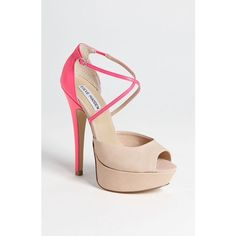 Steve Madden AARIA HEELS Super cute & sexy heels that you can dress up or down with! The straps fasten at the ankle and the platform make it incredibly easy to walk in! Offers are welcome! Steve Madden Shoes Platforms