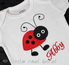 Items similar to Custom Girls Personalized Polka Dot Ladybug Onesie or Shirt on Etsy Q 2, Little Red, 2nd Birthday, Ladybug, Onesies, T Shirts For Women, Trending Outfits, Unique Jewelry, Handmade Gifts