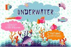 Underwater by SuperNata on @creativemarket