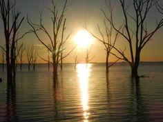 Atardecer Lago Epecuen