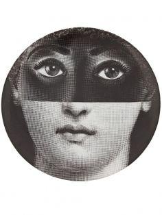 フォルナ・セッティ 円高還元▼FORNA SETTI▼Printed Plate masked woman. | インテリア - キッチン・クッキング - 皿|海外通販ならLASO(ラソ)