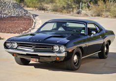 1971 Dodge Challenger Black | ... Threat – Original Paint Triple Black 1971 Dodge Challenger Hemi R/T