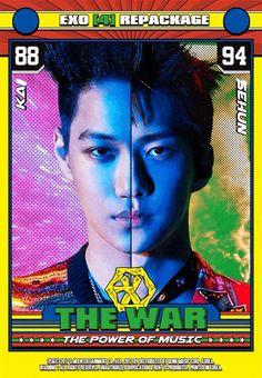 kim jongin <kai> & oh sehun | the war: the power of music | exo